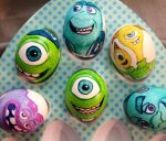 Monster university Easter eggs by Rene-L