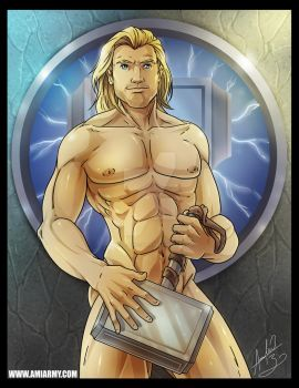 Thor...Captain Hammer. by Amelie-ami-chan