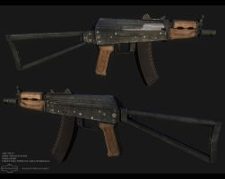 AK-74U by Mellon3D