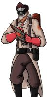 Red Medic by CarnivorousTwinkie