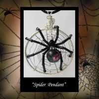 Rose Solitary Spider by KabiDesigns