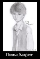 Thomas Sangster by EllenMarieCurie
