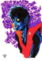 Nightcrawler bust by guillomcool