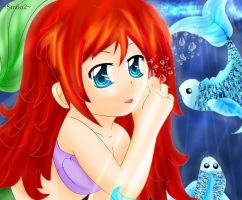 Misc: Ariel by Little-MissMidnight
