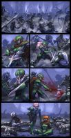 Commission comic page 1 by blackmyst