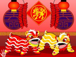 Chinese New Year by V-male