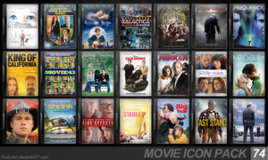 Movie Icon Pack 74 by FirstLine1