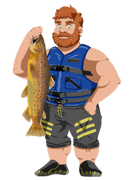 Brian from Dream Daddy by SercansArtbook
