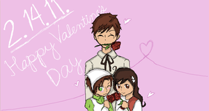 Happy Valentine's Day. by Hourglass34