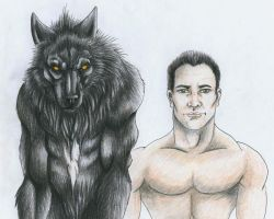 Wolf and Alex by punxnotdead309