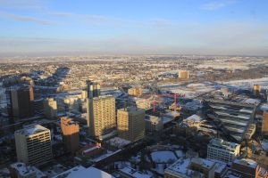 View from Calgary Tower 2 by Lady-Lilith0666