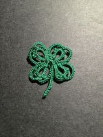 Tatted Four Leaf Clover by Erzsabet