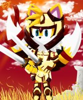 Tails - The Golden Knight by Paredi