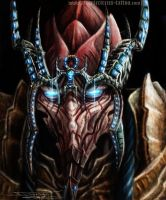 Protoss unit by DinoTomic