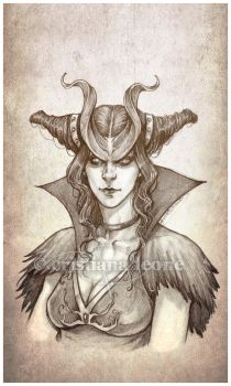 Thiefling - NPC for hire by CristianaLeone