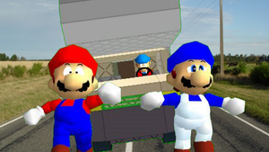 Mario and SMG4's RV Camping Craziness by Geoffman275