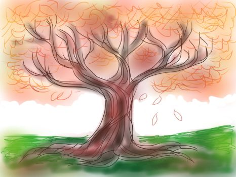 SKETCH A TREE by TernFeather