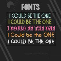 FONTS |1| LilyEdt! by LilyEdt