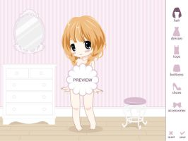 Dress Up Game - Coming Soon... Someday... Maybe by Lunai