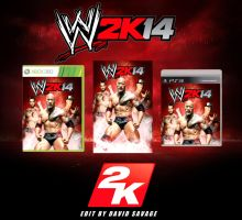 WWE 2K14 fan made covers and poster by ultimate-savage