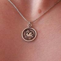 Emma Swan Silver Necklace Once Upon A Time by Woolf83