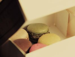 macaroons by Blurry-Photography