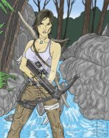 Tomb Raider Color Art_watermark by PatrickOlsen