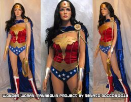 Wonder Woman Custom Mannequin Project 2013 by renstar71