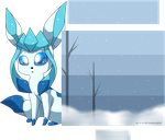 F2U Glaceon journal skin by snowflake95