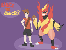 Odd one's contest - Lancer the Launcher by Lion-Oh-Day