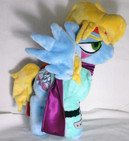 Caesar Zeppeli Pony Plush by Cryptic-Enigma