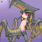 Hybrid Spider-Anime Type by oiilily