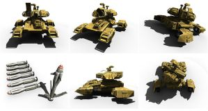 Hover Tank by mikemars