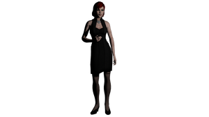 Default Femshep ME2 Dress Stockings by Padme4000
