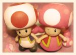 Mushy Shrooms by kalos-eidos-skopein