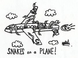 snakes on a plane by oddradish