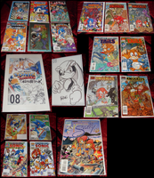 Sonic Collection .:Comics Part 2:. by VeggieMadness