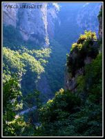 GENGA (AN) - A LOOK IN THE FRASASSI GORGE by MarcoLorenzetti