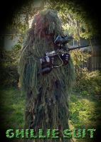 Ghillie Suit by covertsniper83