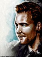 Tom Hiddle-Sketched Coloured by riotfaerie