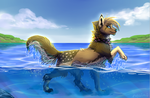 Splish splash splosh by neoinu