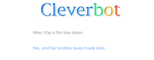 Cleverbot knows it. by edoddodi