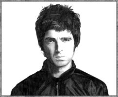 Noel Gallagher by Baltra