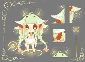 Mint Loli Mage Adoptable Auction[CLOSED] by Iyshu