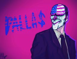 Dallas - Payday 2 by SuweetoHaato