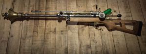 Fall Out - Steam Punk Sniper Rifle by MasterBodycaster