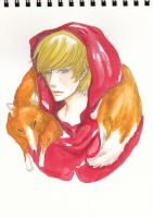 The red riding hood by yuchunqu