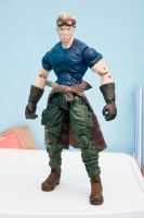 custom Cid action figure FF7AC by SomaKun