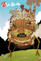Howl's Moving Castle by cheshirecatart