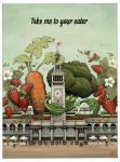 Ferry Plaza Farmers Market Collectible Poster by aaronjohngregory